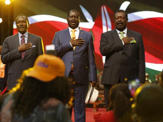 Did Kalonzo Get Raw Deal In NASA Lineup?